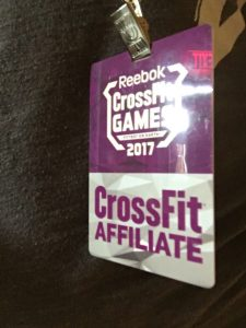 Meeting the Founder of CrossFit - Affiliate Badge