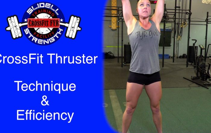 Thumbnail_CrossFit Thruster Tutorial