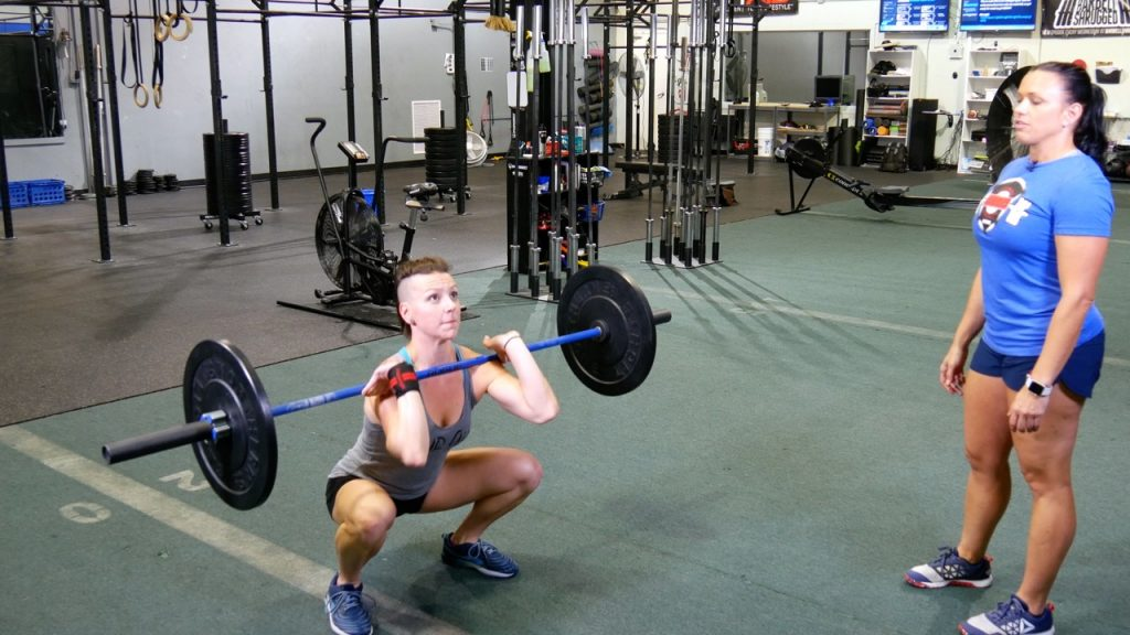 CrossFit Thruster Tutorial-1
