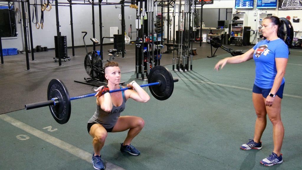 CrossFit Thruster Tutorial-4